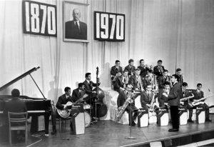 Edward and his big band in Tashkent