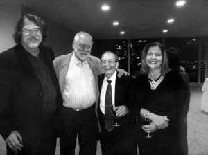 With Chris Brubeck, Teresa Brubeck and Russell Gloyd after the joint performance at the United Nations