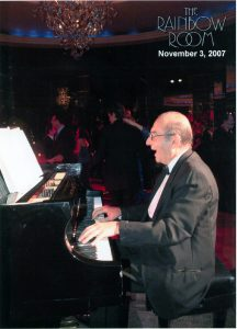 Entertaining at the Rainbow Room at Rockefeller Center